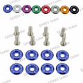 car-styling Fender Washers 1set=8pcs washers and bolt Aluminum Fender Washer  For Honda Acura Mazda Mitsubishi Nissan ALL CAR