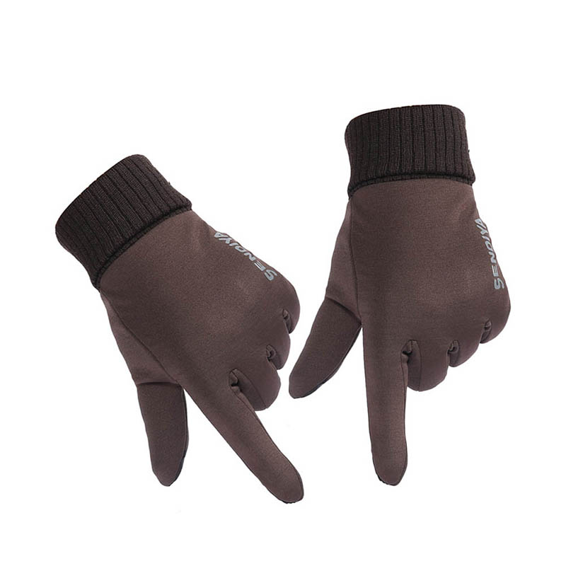 Fashion 1 Pair Unisex Winter TouchScreen Gloves Soft Liner Thermal Walking Sports Running Mittens HSJ88
