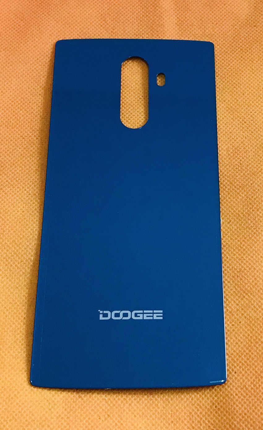 Б/у оригинальный защитный чехол из закаленного стекла на заднюю панель Для DOOGEE Mix 2 Helio P25 Octa Core 5,99 ''FHD Бесплатная доставка