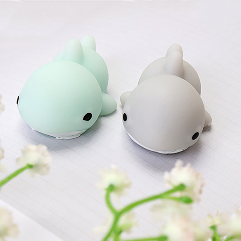 Shark Cute Healing Toy Kawaii Collection Stress Reliever Gift Decoration Blue Gray Soft Lovely