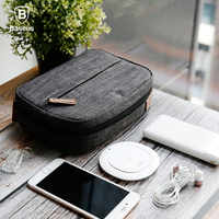 Baseus 9 6 Inch Universal Travel Phone Pouch Bags For IPhone X 7 8 Samsung Note