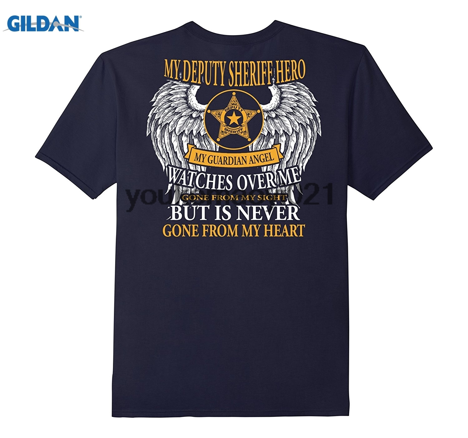 GILDAN Guardian Angel My Deputy Sheriff Guardian Angel