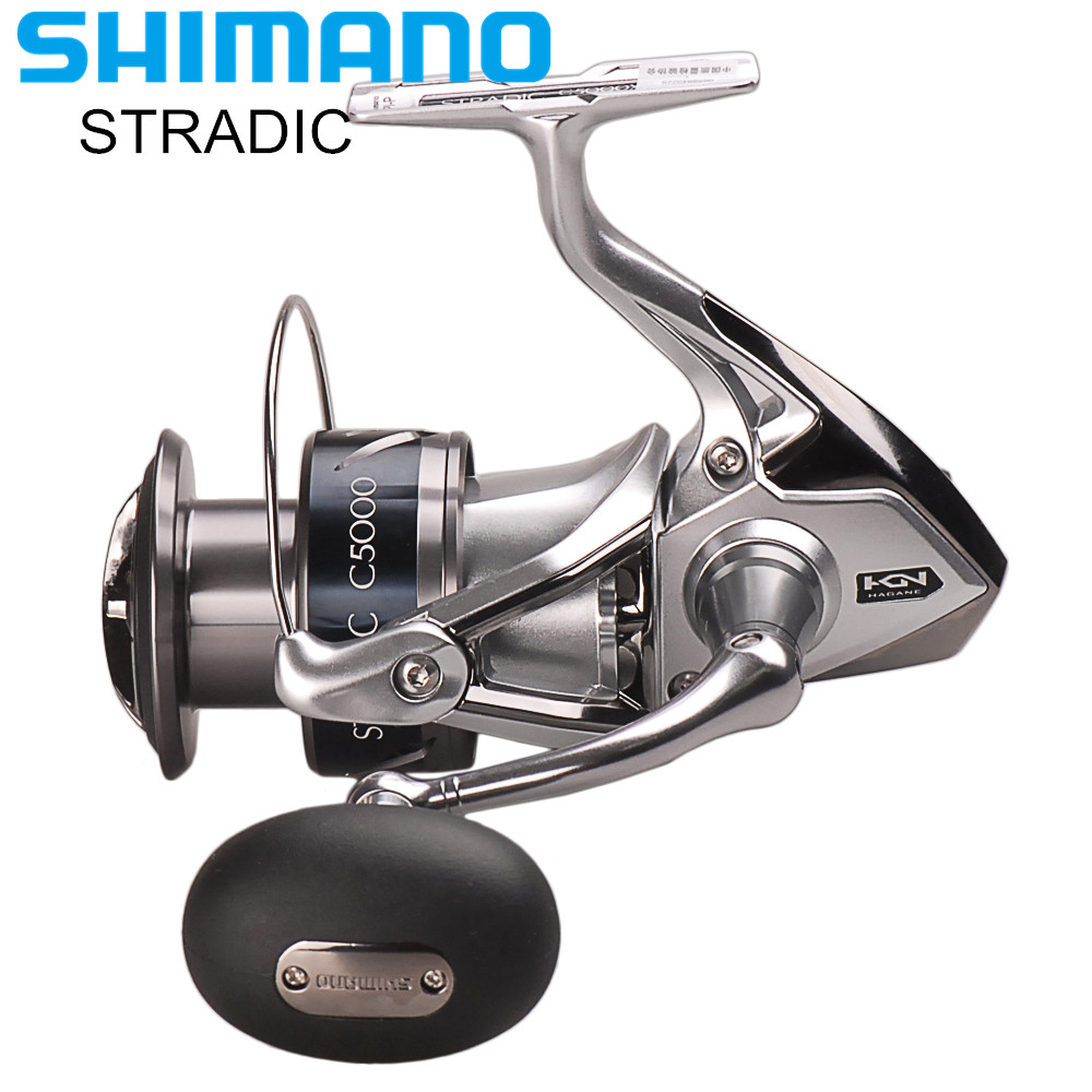100% Shimano STRADIC FK 2500HG/C3000HG/4000XG/C5000XG Spinning Fishing Reel 6.0:1/6.2:1 HAGANE GEAR Carretilha Moulinet Peche shimano stradic ci4 spinning reel with extra handle knob 1000hg 2500hg c3000hg 4000xg 6 2 1 high gear ratio 6 1bb fishing reel