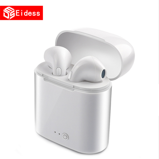new I7s TWS 5.0 Wireless Bluetooth Earphone Stereo Earbud Headset With Charging Box For xiaomi All tablet Smart phone earphone 3