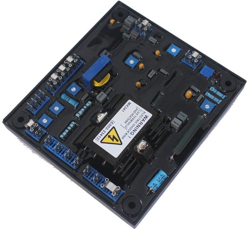 MX341 Generator Automatic voltage regulation AVR Permanent magnet Diesel brushless alternator Power regulator stabilizer комплект колье серьги slava zaitsev комплект колье серьги page 6