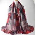 New 2017,british plaid scarf,Muslim hijab,shawls wraps,geometry print scarf,viscose shawl,muffler,shawls and scarves,head wrap