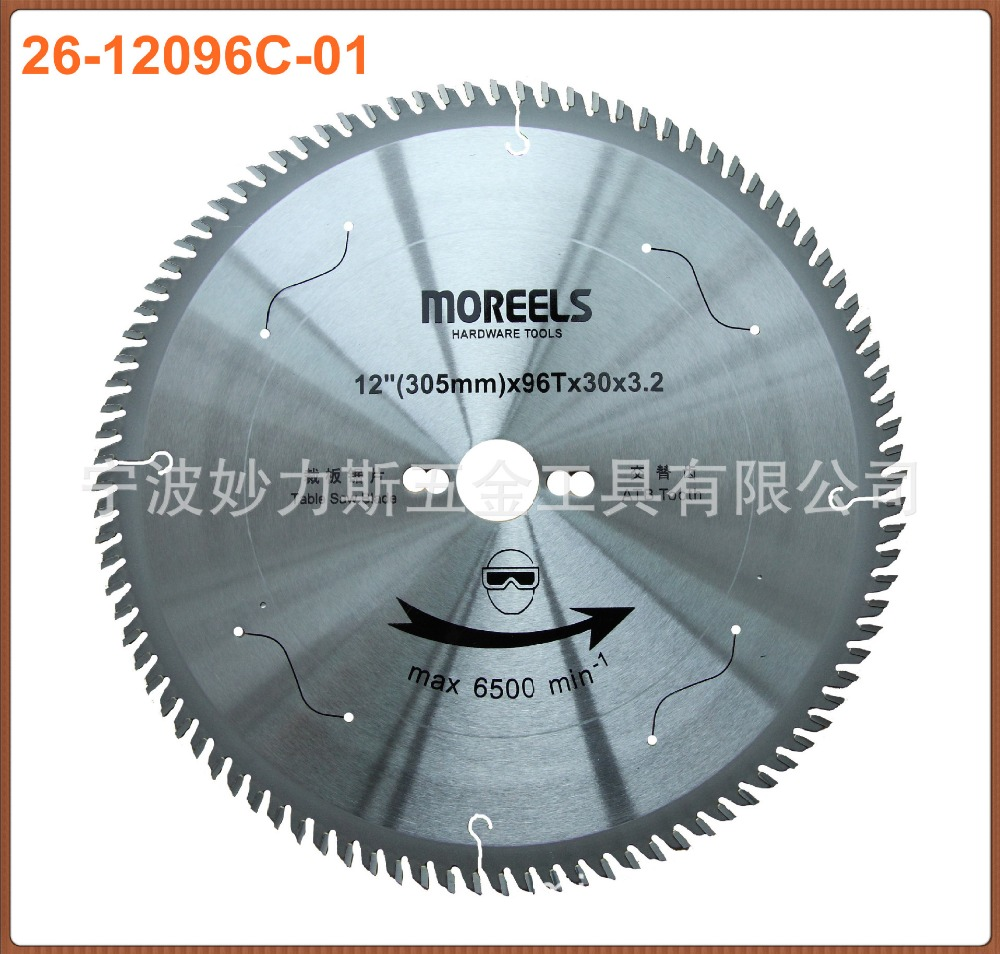 ФОТО T C T saw 96teeth for al-alloy cutting export quality at good price and fast delivery