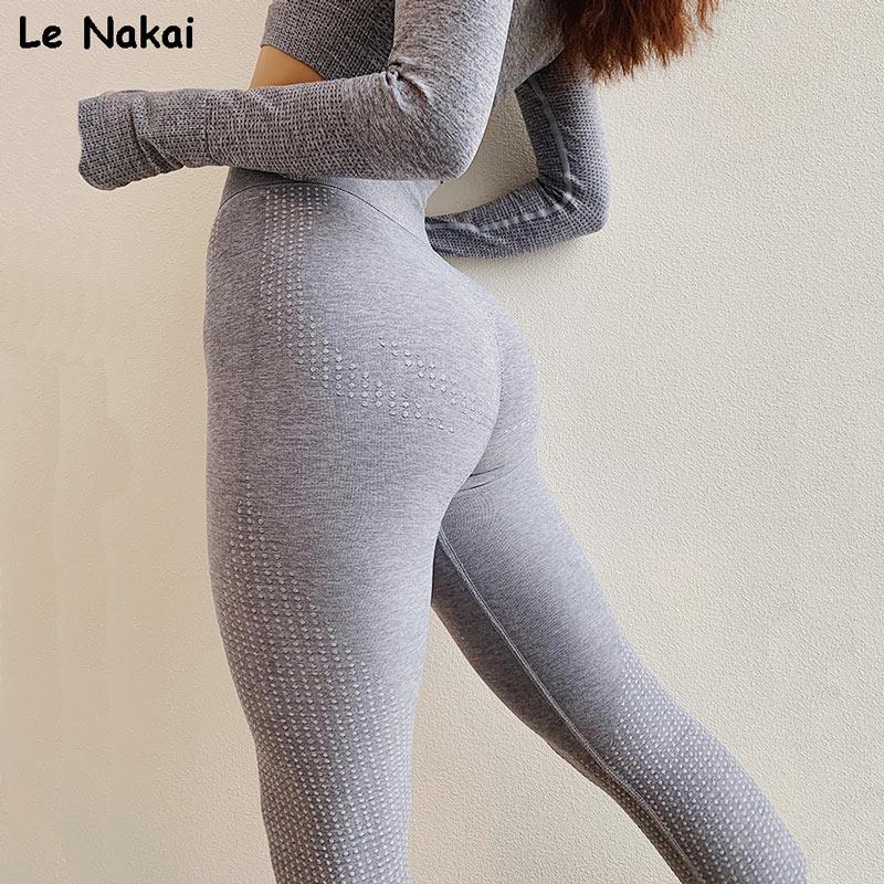 a073e567cd119 High Waist Vital Seamless Leggings Sport Fitness Gym Leggings for Women Big  Booty Yoga Pants Scrunch Butt Legging Workout Tights