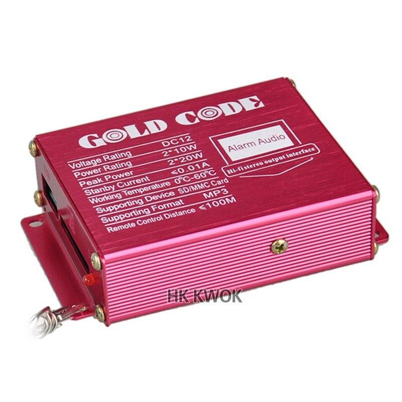 rádio usb sd alto-falante sistemas de alarme anti-roubo moto mp3 áudio