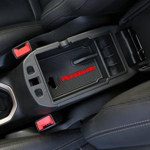 Image 4 - Abs caixa de apoio braço central do carro console central braço resto caixa luva apto para jeep renegado 2015 2016 2017 2018 2019 acessórios