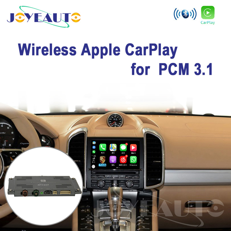 Joyeauto WIFI PCM3.1 sans fil Apple CarPlay pour Porsche Cayenne Macan Cayman Panamera Boxster 911 Android/iOS miroir/Auto