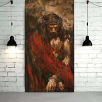 Ecce homo by Anatoly Shumkin canvas paintng Jesus Christ Oil Painting on canvas art home decor canvas wall art painting picture
