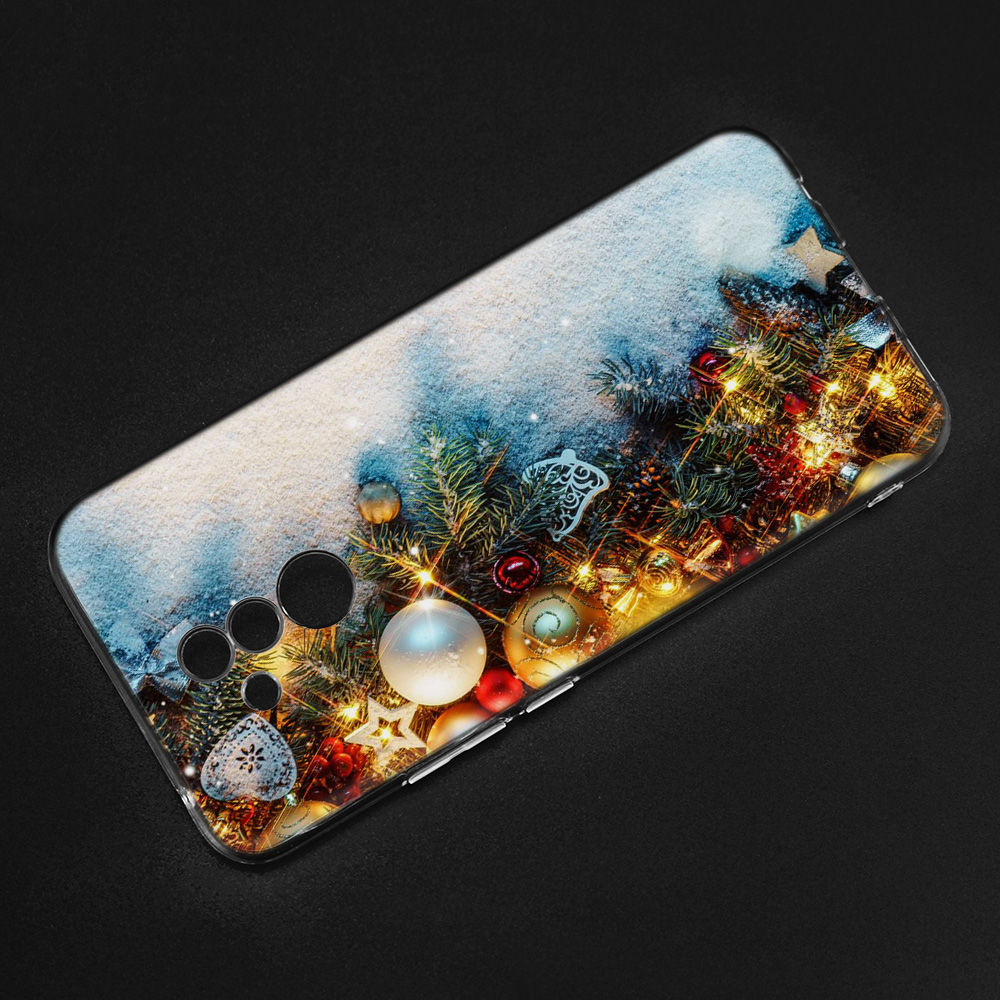 I Wish You Merry Christmas Silicone Case For Huawei P20 P10 P9 Mate 20 10 Lite P Smart + Honor 10 8X Play P8