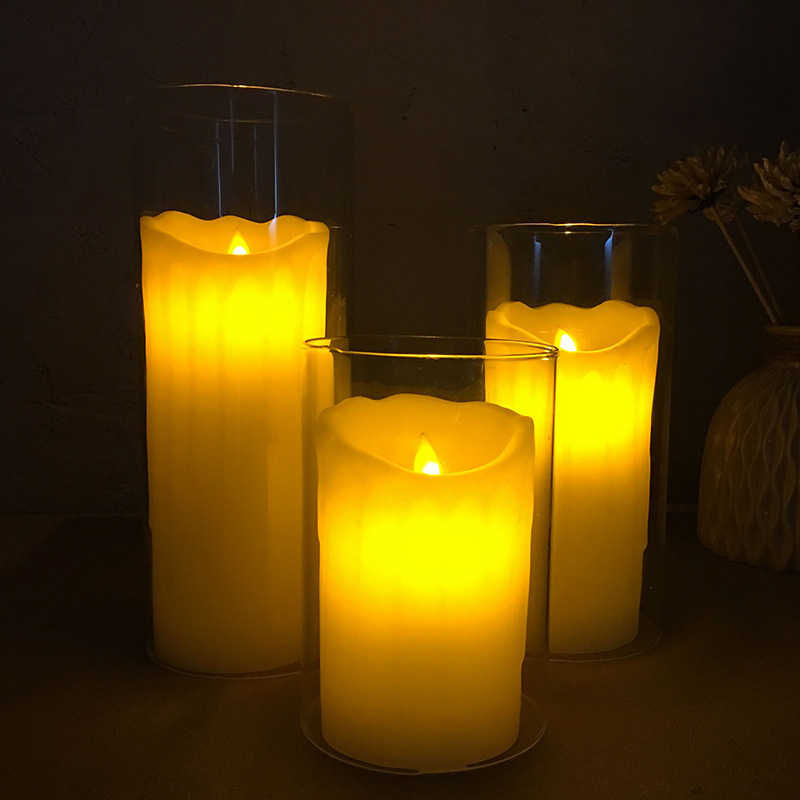 Слезы, светодиодный электронные свечи моделирования, воск свечах, направляя огни украшения