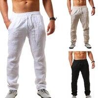 INCERUN мужские брюки прямые повседневные брюки свободные фитнес брюки с эластичной резинкой на талии однотонные брюки Kunfu плюс размер hompantalon ...