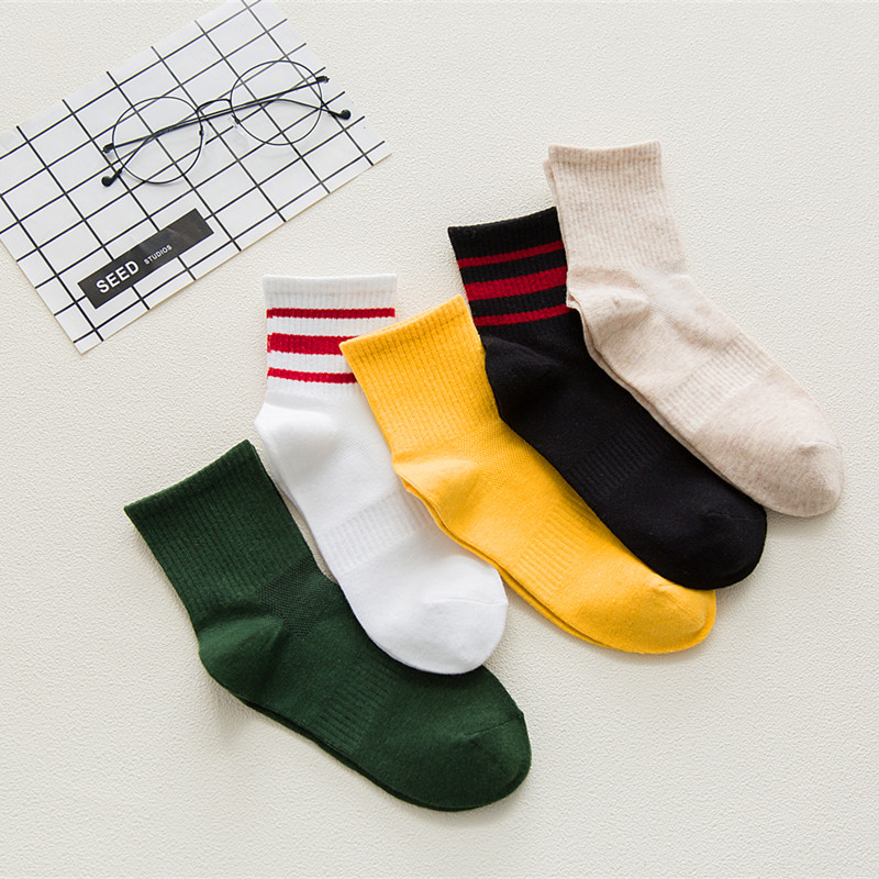 Funny   Socks   Women Various Colors Harajuku Female Cute   Sock   Women Designed School Students Female Korean Style Trendy Ladies