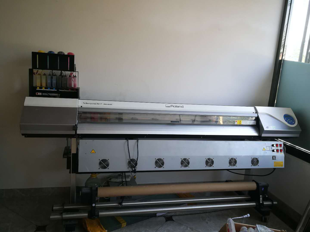 Used Roland RA 640 Printer Second hand eco Solvent Printer with a New DX7 Printhead