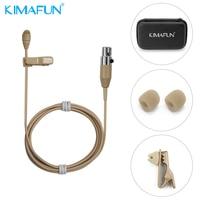 KIMAFUN Hot Mini Skin Colour Lapel Microphone Wireless Microphone speaker hidden system KM 4050