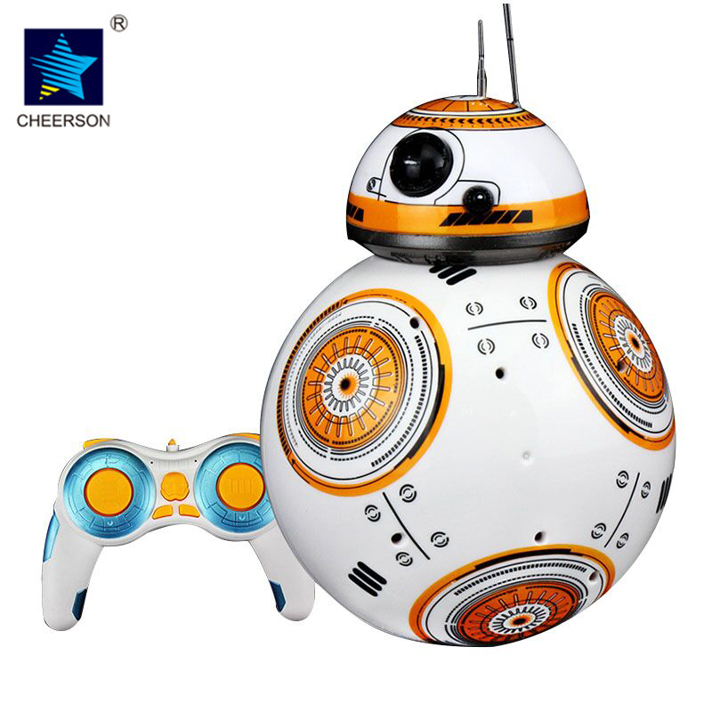 BB 8 Star Wars 7 RC BB-8 Droid Robot 2.4G Remote Control Captain America BB8 Iron Man Action Figure Robot Intelligent Ball Toys