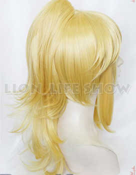 Bowsette Princess Bowser Peach Teresa Boos Cosplay Wig Full Hair Golden Wig Long