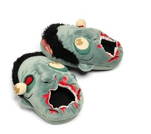 Winter Plush Slippers Geek Footwear Halloween Shoes One Size Fit EUR 37-42 US 6.5-10