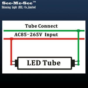 Image 5 - 20 ピース/ロット 2ft 10 ワット 4ft 1200 ミリメートル 20 ワット 32 ワット 288 個 led チップ/個 AC85 265V ダブル行チップ T8 led チューブ