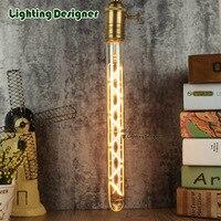 T28 300MM Edison Bulb Stylish Decor Bulb 2700k White Color 220V 4W E27 Base Tubular Edison