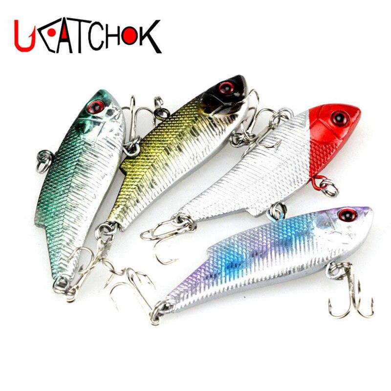 3pcs/pack model SO50 hard plastic VIB lure 6.5g vibration wobbler type fake fish bait long casting bass fishing lures tackle
