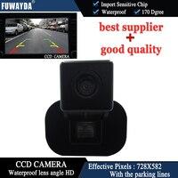 FUWAYDA car styling Auto vehículo en cámara de visión trasera para KIA FORTE/Hyundai Verna copia de seguridad CCD visión nocturna cámara de estacionamiento marcha atrás