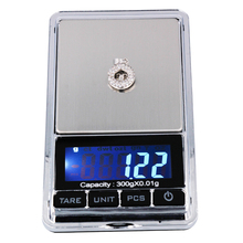 Portable Electronic Balance Gram Digital Pocket Jewelry Weighing 300 g/0.01 g Scale Backlight LCD display