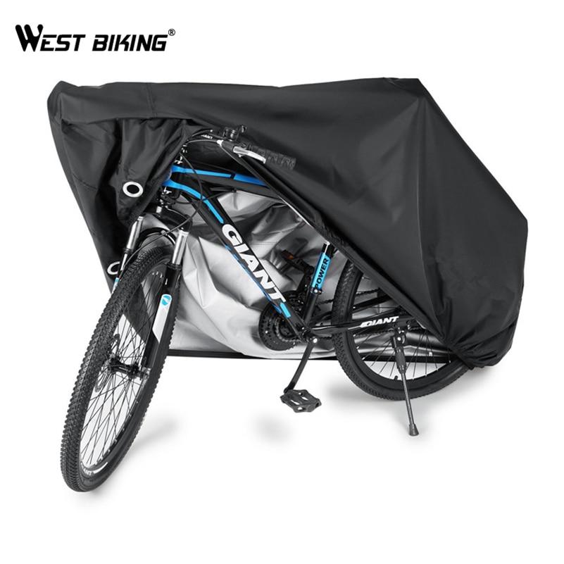 Couverture de vélo Portable WEST vélo équipement de protection vélo extérieur accessoires de vélo imperméable cyclisme pluie soleil couverture anti-poussière