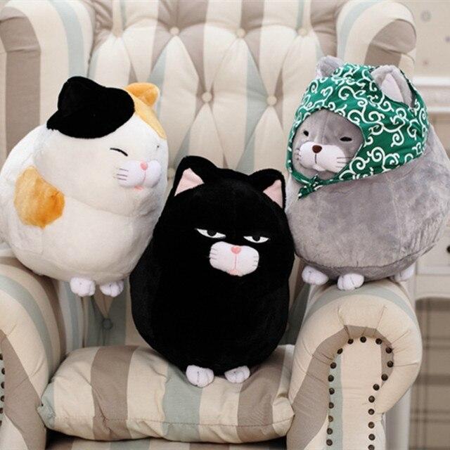 Cute Soft Kitty Doll Simulation Cat Plush Baby Toys Creative Cat