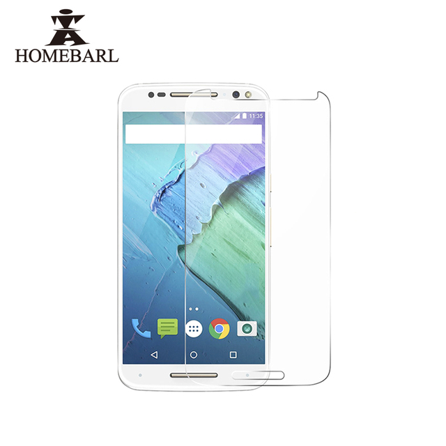 HOMEBARL 9H 2.5D Front Premium Tempered Glass Protector For Lenovo Motorola Moto E E2 G G2 G4 Plus Play Style X Force X2 X3 New