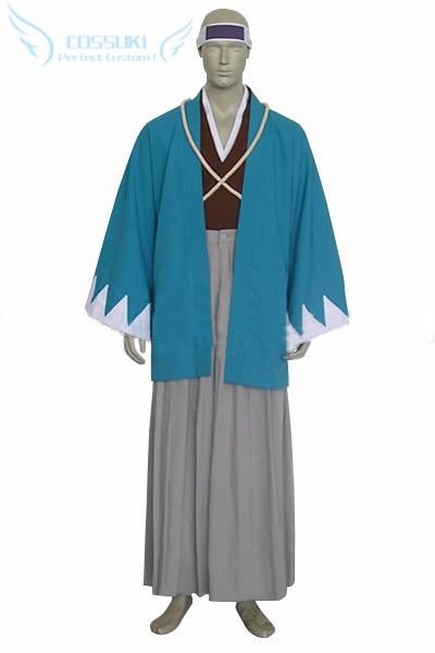 Le plus récent Costume de Cosplay uniforme de haute qualité Rurouni Kenshin Saito Hajime Shinsengumi, parfait pour vous!