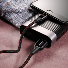 Baseus X-Shaped Light Cable 2.4A Fast Charging for iPhone