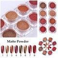 1 Box Nail Glitter Powder Matte Powder Gold Red Series Manicure Glitter Nail Art