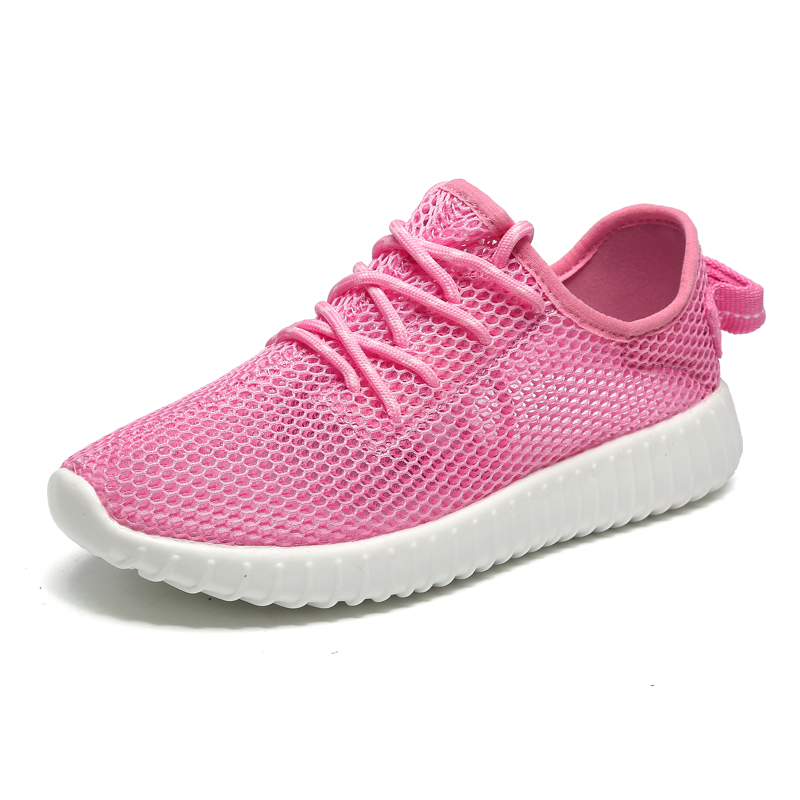 82813c664f125 Ladies Gym Shoes Breathable Running Sneakers Womens Super Light Ladies  Running Trainers Pink/Gray Women Sport Shoes-in Running Shoes from Sports  ...