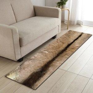Image 3 - Free Shipping Cow Artificial Fur Badkamer Bath Mat Door Floor Tapete Banheiro Carpet For Toliet Non Slip Alfombra Bano