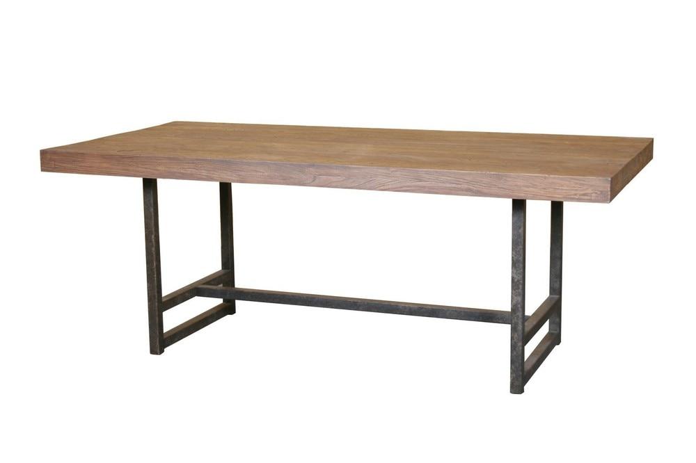 Como hacer una mesa de madera mesa o banco de trabajo for Construir mesa de madera
