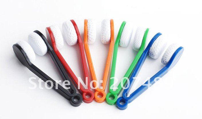 Mini Portable Glasses Eyeglass Spectacles Cleaner Spectacle glasses spectacles Cleaner Eyeglass clean wipe wholesale