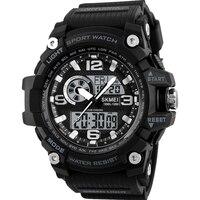 SKMEI Men Quartz Analog Wristwatches Luxury Sport LED Digital Watch Waterproof Alarm Chrono Electronic Watches Relogio