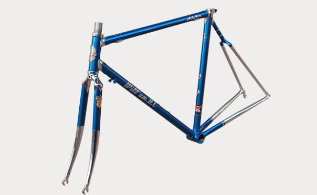 Vintage Steel Road Bike Frame/fork Retro Bicycle Reynolds 525/725/853 Frame Bicycle Accessories Custom Frame