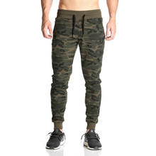 2018 casual camouflage sweatpants joggers pants skinny trousers 25 NEW sweatpants Men's gasp workout bodybuilding clothing