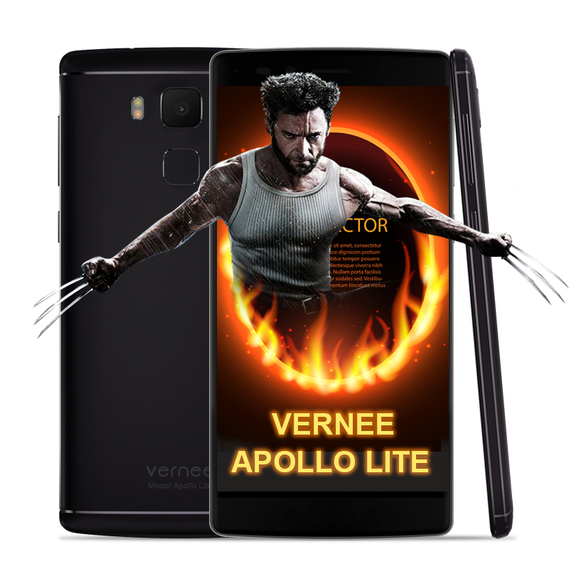 Original Vernee Apollo Lite font b Smartphone b font Android 6 0 5 5Inch MTK6797 Deca