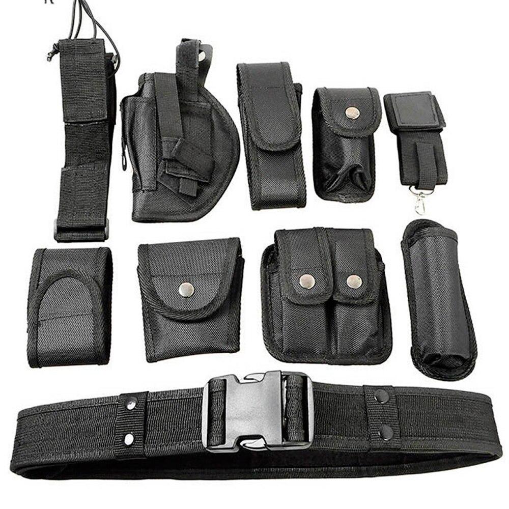 Combate táctico Airsoft caza policía bolsa cinturón Nylon correas fortalecimiento entrenador bolsa cintura táctica cintura soporte