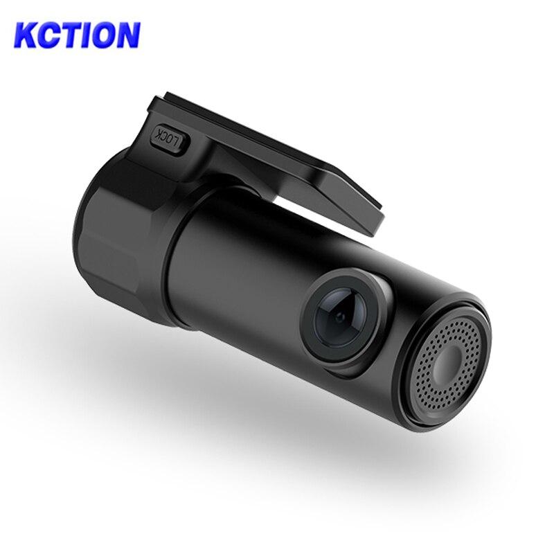 Kction Wifi Hidden Car DVR Dash Camera in Car Video Camera Full HD 1080P Smart Video