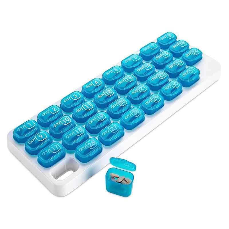 31 日医学タブレットデピルボックス、毎週収納ケース特大毎月ピル主催