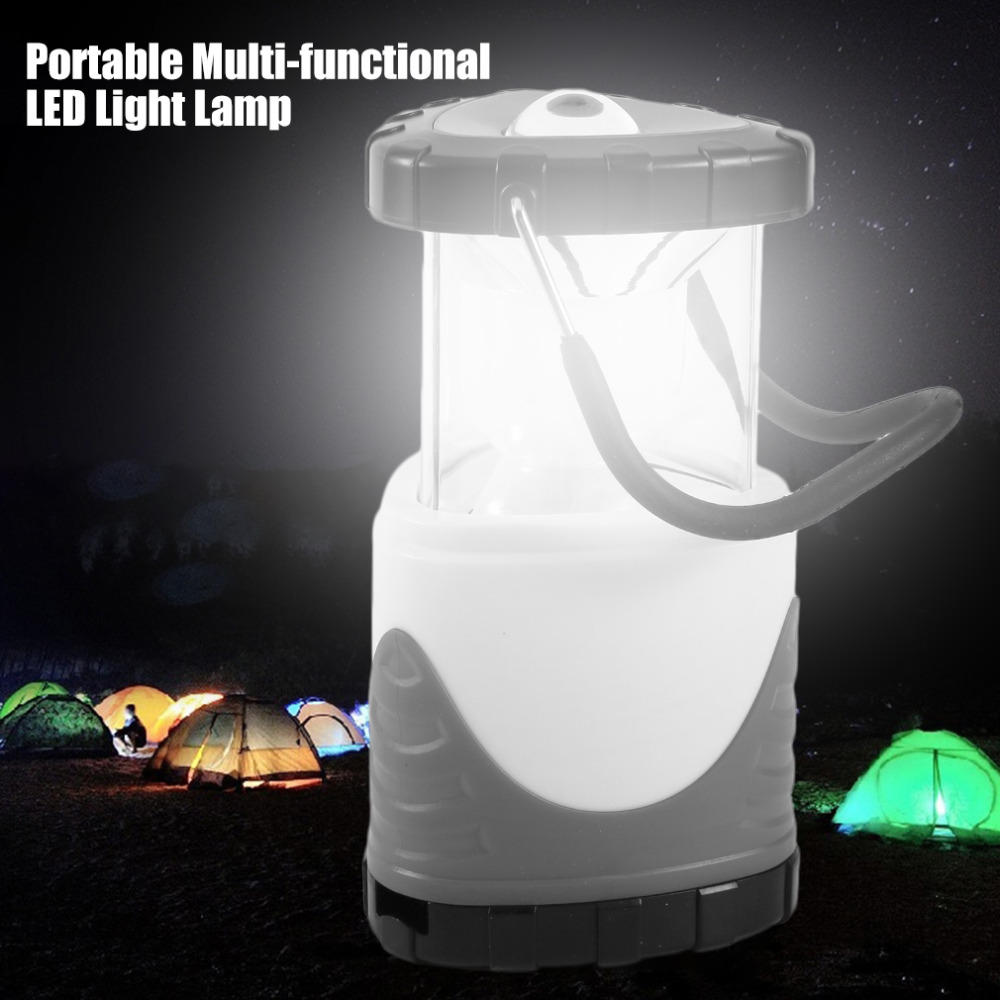 Portable Hook Multi-functional LED Light Lamp Emergency Super Bright Lights Camp Rechargeable Battery Handle Lanterns