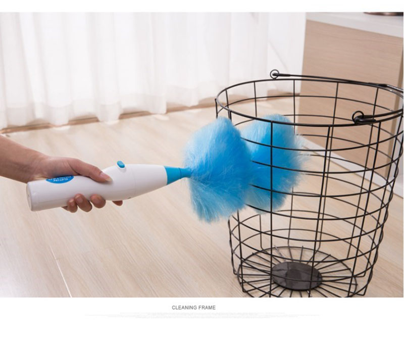 Home & Garden Adjustable Electric Feather Duster Dirt Dust Brush Vacuum Cleaner Blinds Furniture Window Bookshelf Cleaning Tool Household Cleaning Tools