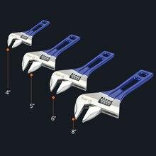 1Piece 4″ Adjustable Spanner Mini Wrench Universal Nut Key Hand Tools Multitool